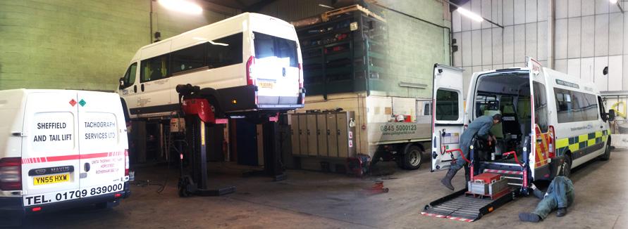 Sheffield Tachograph Amp Tail Lift Services Ltd